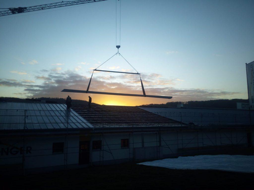 Schöckel Bedachungen Flachdachbau Profilblechmontage Dachbegrünung Dacheindeckung Dachsanierung Dachdecker Treuchtlingen Weißenburg Eichstätt